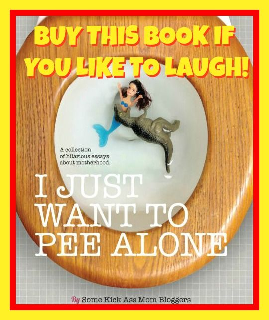 If you are a mom, know a mom, or have a mom...you NEED to read this hysterical book!  http://www.thedoseofreality.com/2013/03/11/i-just-want-to-pee-alone/