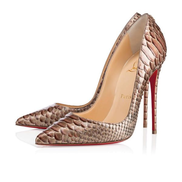 Christian Louboutin So Kate 120mm Dune Pony Pikap Women Sky-High Pumps