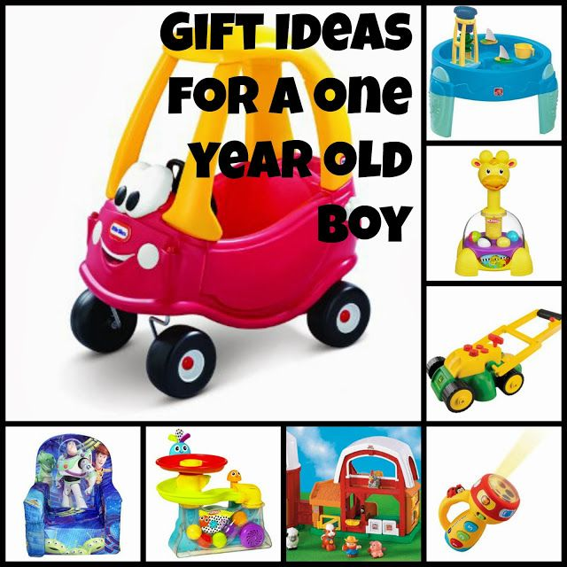 One Year Old Boy Gift Ideas