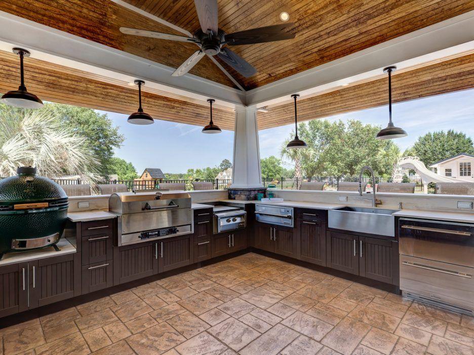Teak Outdoor Kitchen Cabinet Doors With Slatted Wood ...