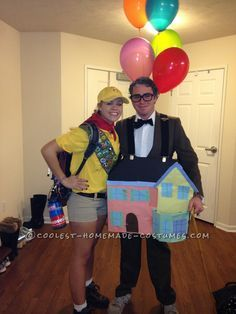 Coolest UP! Carl Fredricksen and Russell Couple Costume | Carl ...