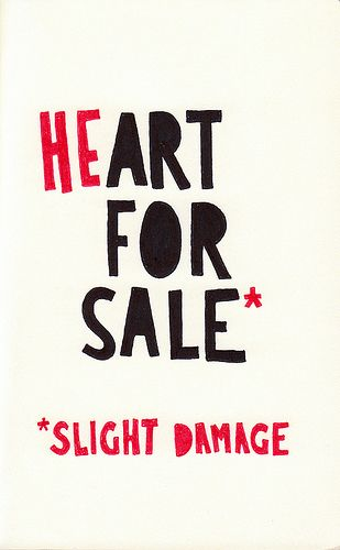 heart for sale.