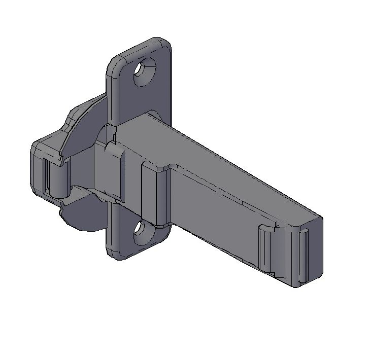 kitchen cabinet hinges this free 3d cad block model of a blum part no 2543