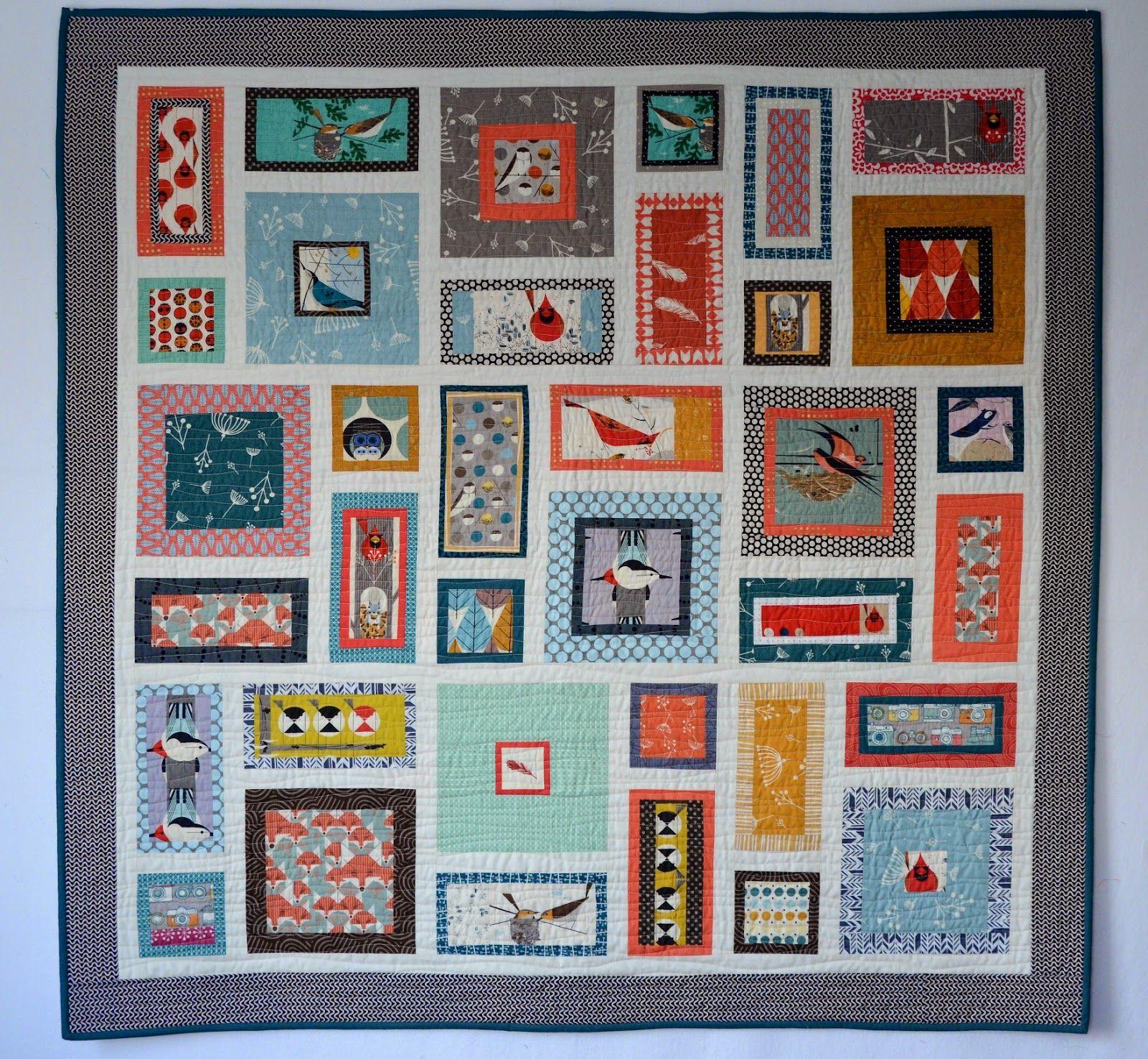 Hyacinth Quilt Designs: Charley Harper Quilt | Quilts We Love ... : hyacinth quilt designs - Adamdwight.com