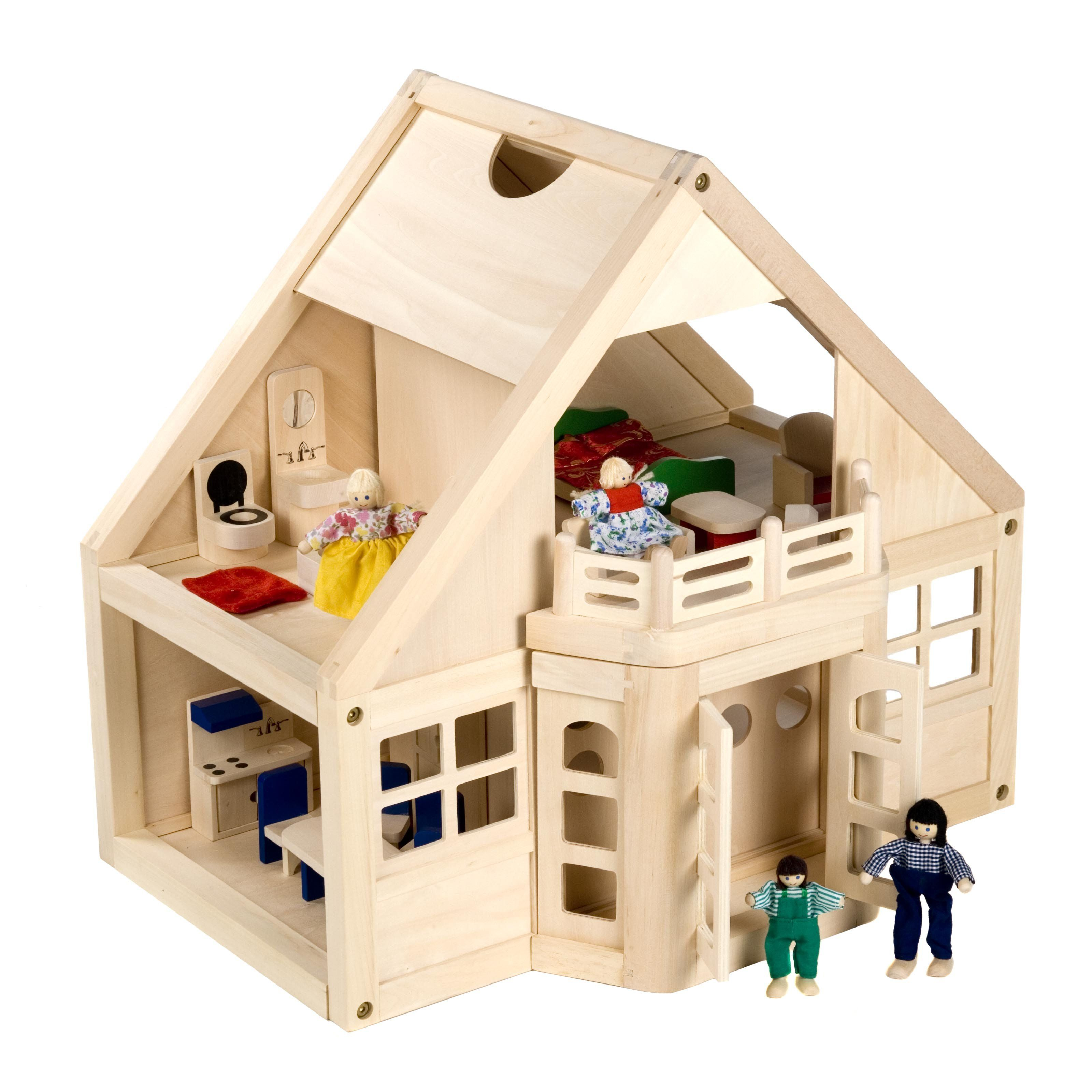 cheap wooden dollhouse furniture. Melissa And Doug Furnished Wooden Dollhouse Kit $99.99 Cheap Furniture