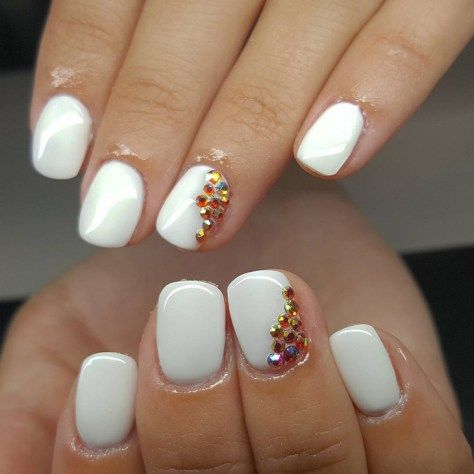 Crystal Nail Art Designs 2017 In 2018 Be Beauty Pinterest