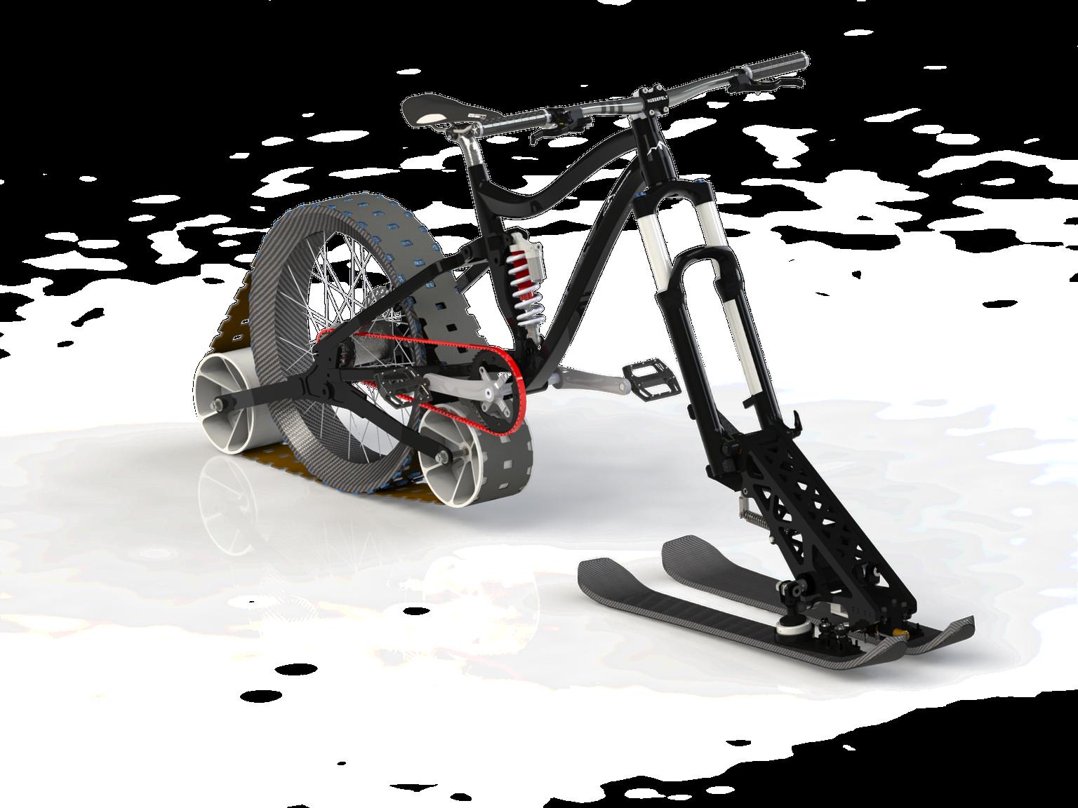 Avalanche Project : The real winter downhill mountain bike by Étienne Durot Ménard — Kickstarter