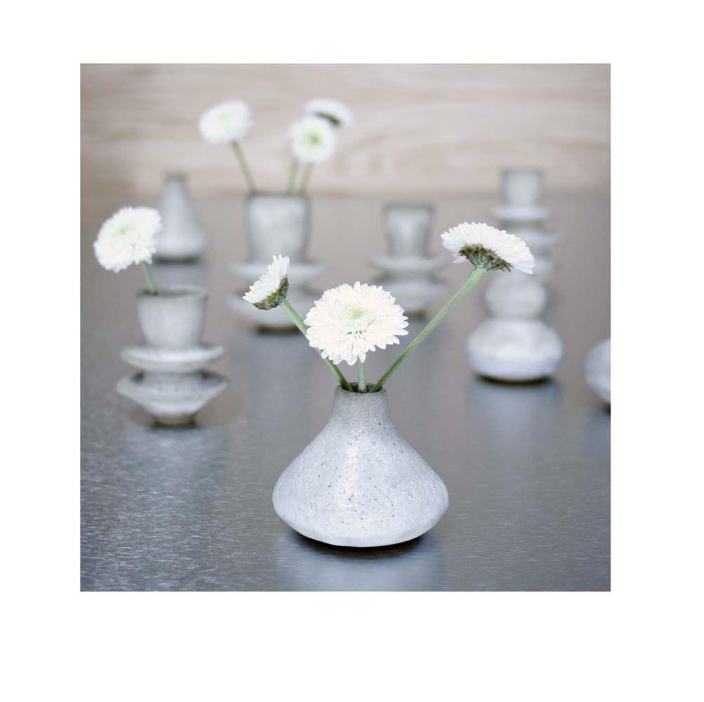 tiny stoneware vase