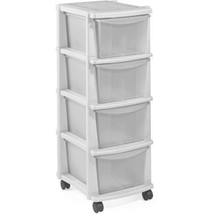 Buy Keter  Drawer Plastic Tower Storage Unit White At Argos Co Uk