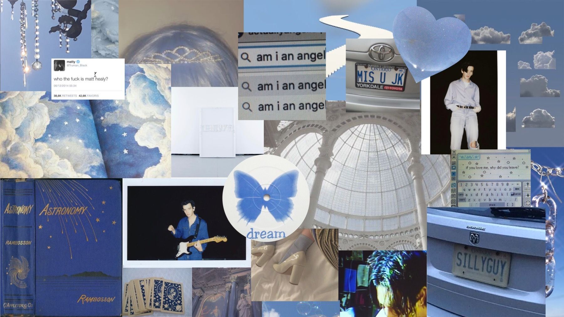 Angelic Blue Aesthetic Desktop Wallpaper X In 2020 Aesthetic Desktop Wallpaper Cool Blue Wallpaper The 1975 Wallpaper