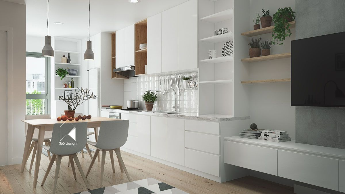 2 Simply Chic Homes with Lots of Light | KUCHNIA | Pinterest ...