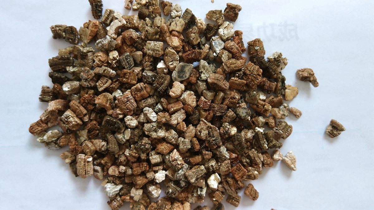 The sponge-like quality of the vermiculite will absorb any excess ...