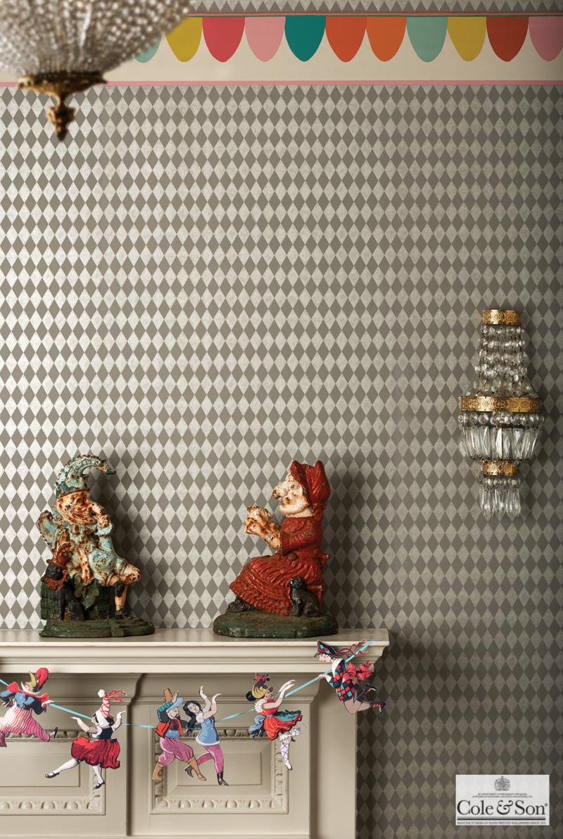 テシードの輸入壁紙 クロス Whimsical 103 14057 海外インテリア