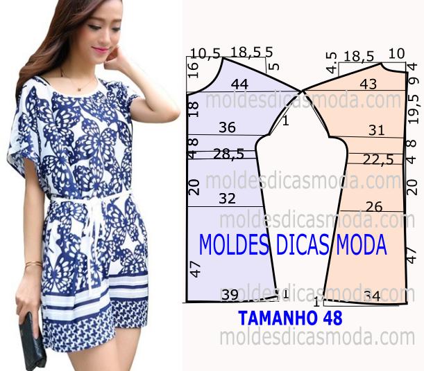 Vestido inspiração azulejo | Costura, Molde y Patrones