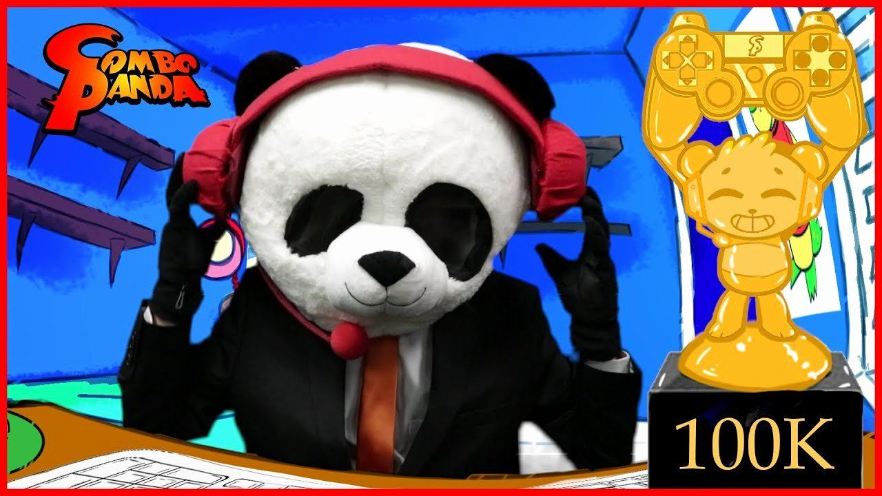 Combo Panda Coloring Page Unique 100k Subs Special Bo