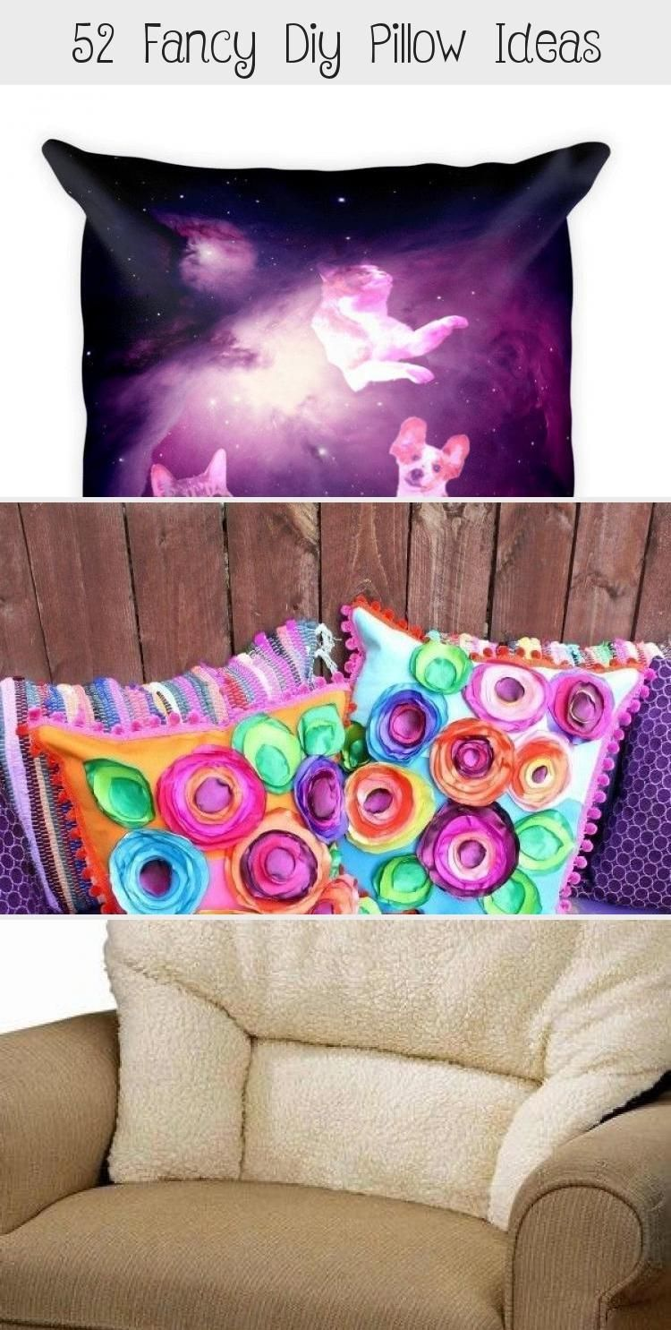 52 Fancy Diy Pillow Ideas - Decorations