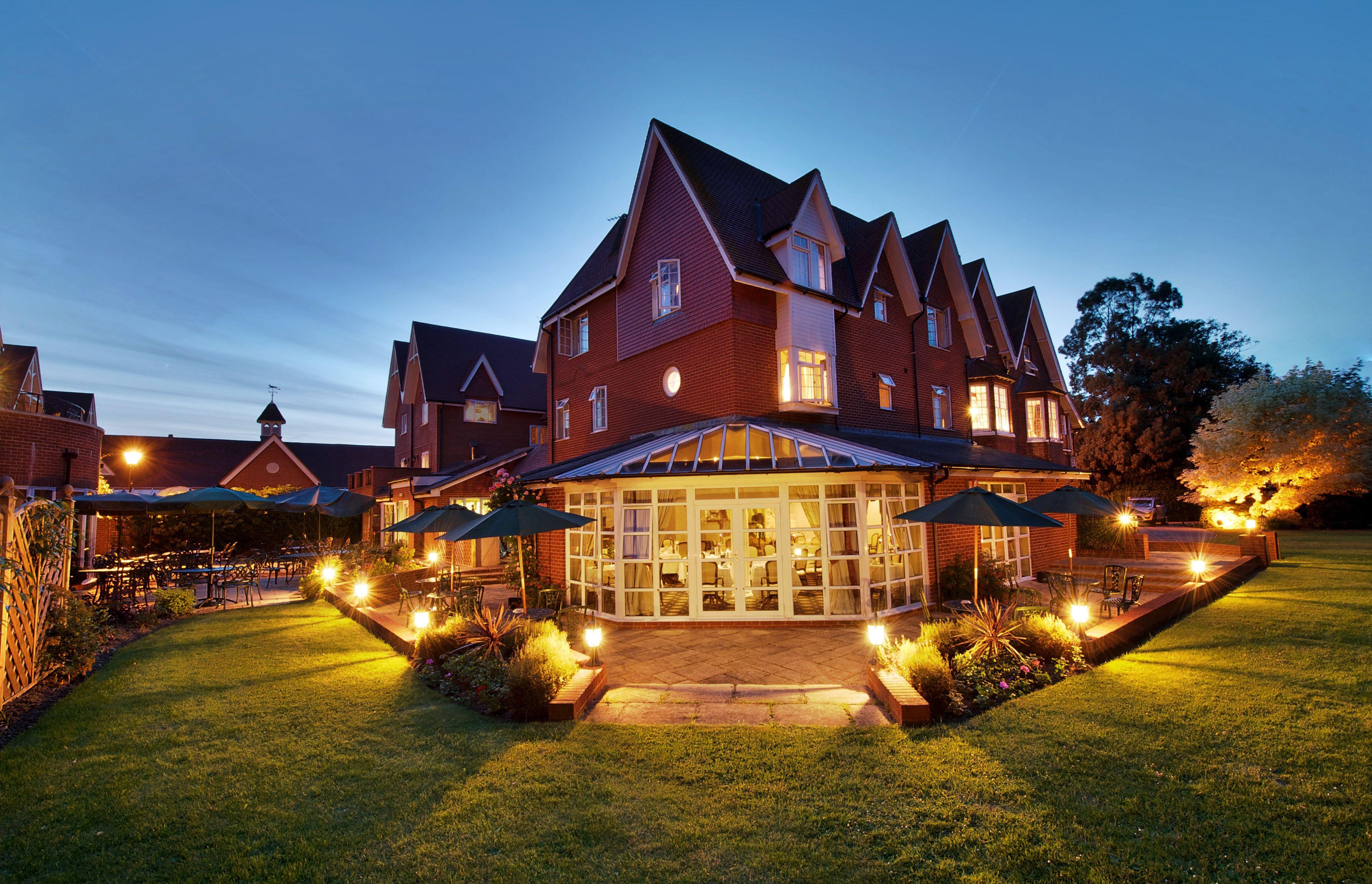 Hempstead House Hotel Spa At Night Bapchild Kent United Kingdom