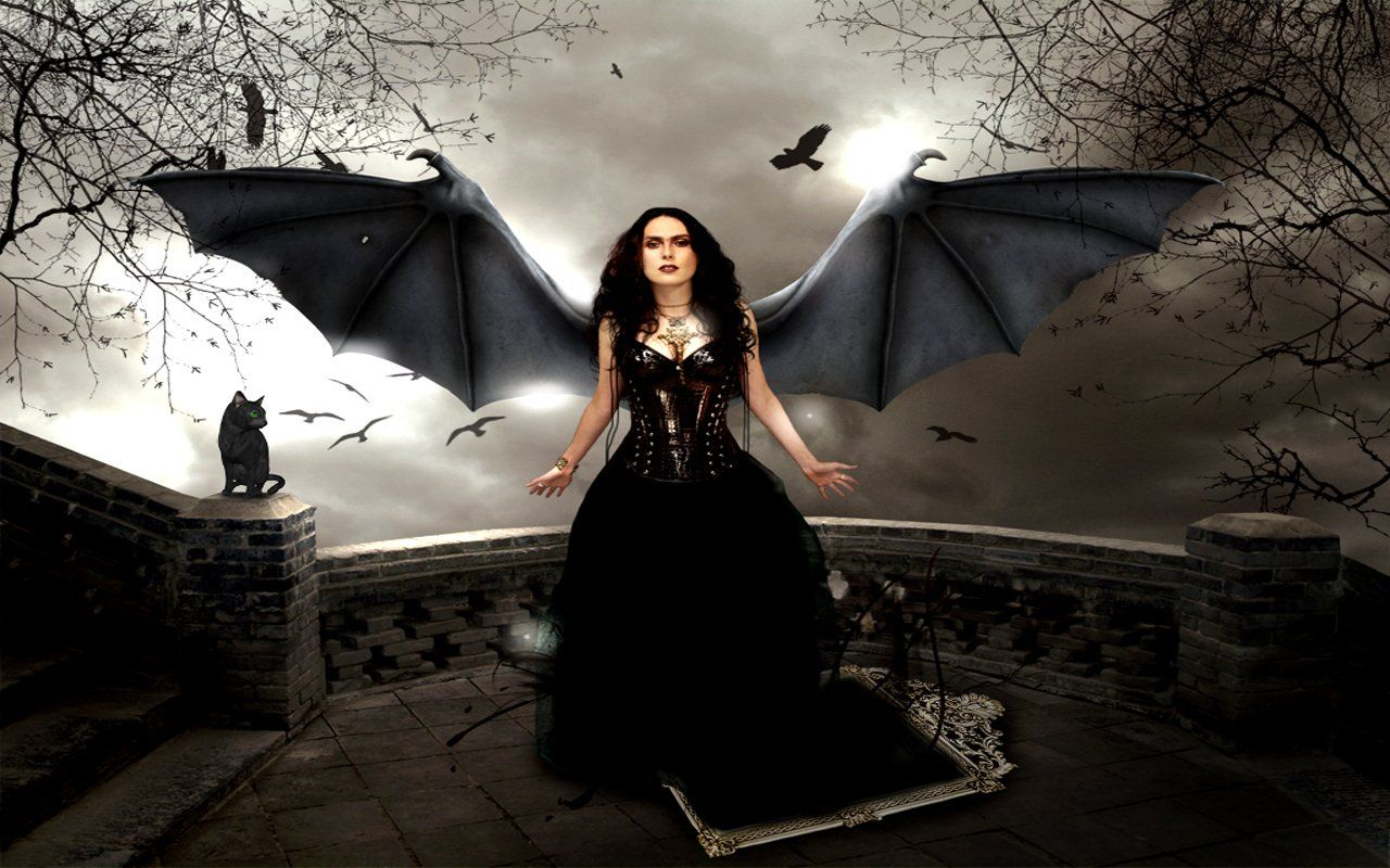 gothic angel photos Gothic Girl 21 Wallpapers, Pictures