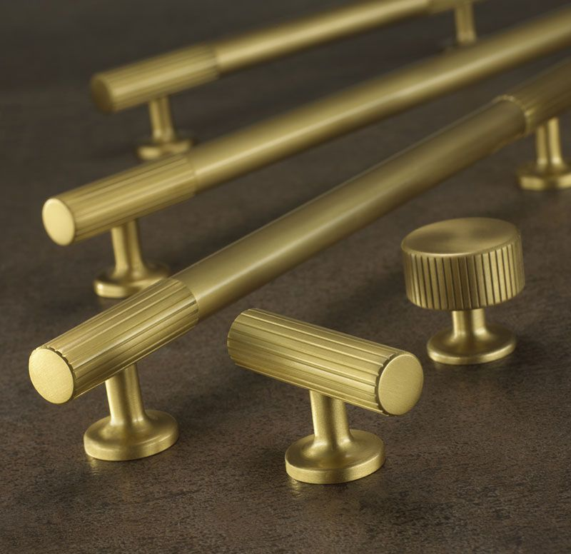 Armac Martin Kitchen Cabinet Handles | Brass, Chrome, Satin Brass ...