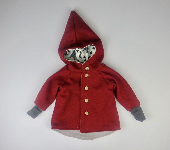 Baumwollfleece Baby Jacken Walkjacke Kinder Gefüttert Mit SUzMpqV