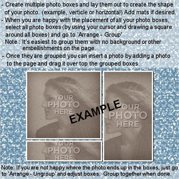 MyMemories Blog: Designer Tip by LLL Creations! Photo Tiling in MyMemories Suite!