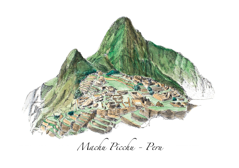Postcards Road Trips Around The World Machu Picchu Peru World Travel Tattoos Jobs In Art
