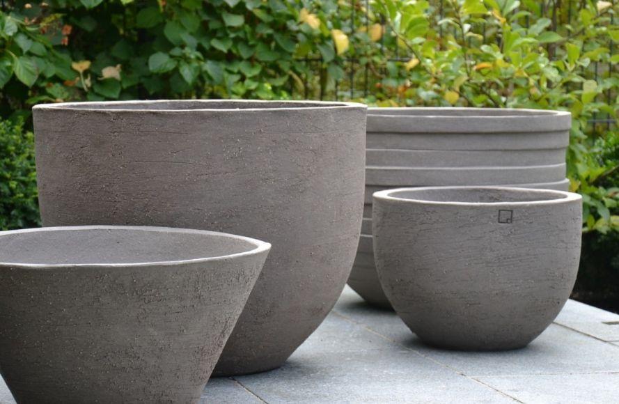 Atelier Vierkant Pflanzgefäße - Barbara Hartmann Draussen