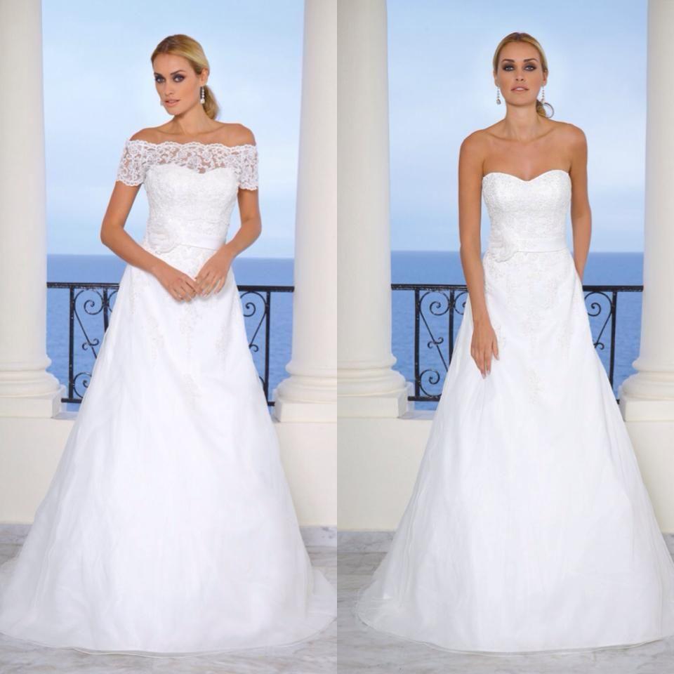 1 trouwjurk met 2 opties Ladybird 45024 | ♥ Trouwjurken Ladybird ...