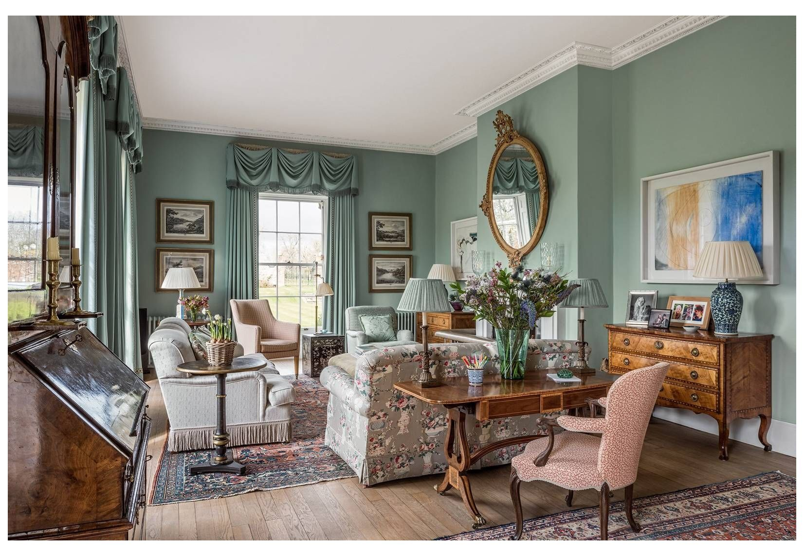 Country House Decor, Old Fashioned Living Rooms