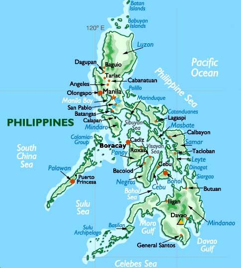 Philippines Google Search Vacation Vacation Vacation - Map philippines
