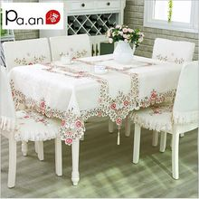 European Luxury Polyester Embroidery Floral Font B Tablecloth B Font Hotel Home Wedding Party Font B With Images Floral Tablecloth Table Cloth Tablecloths For Sale
