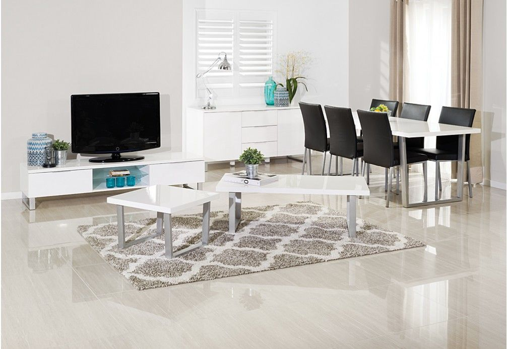 Ice 11 Piece Package Super Amart Dining Suites Home Decor Furniture