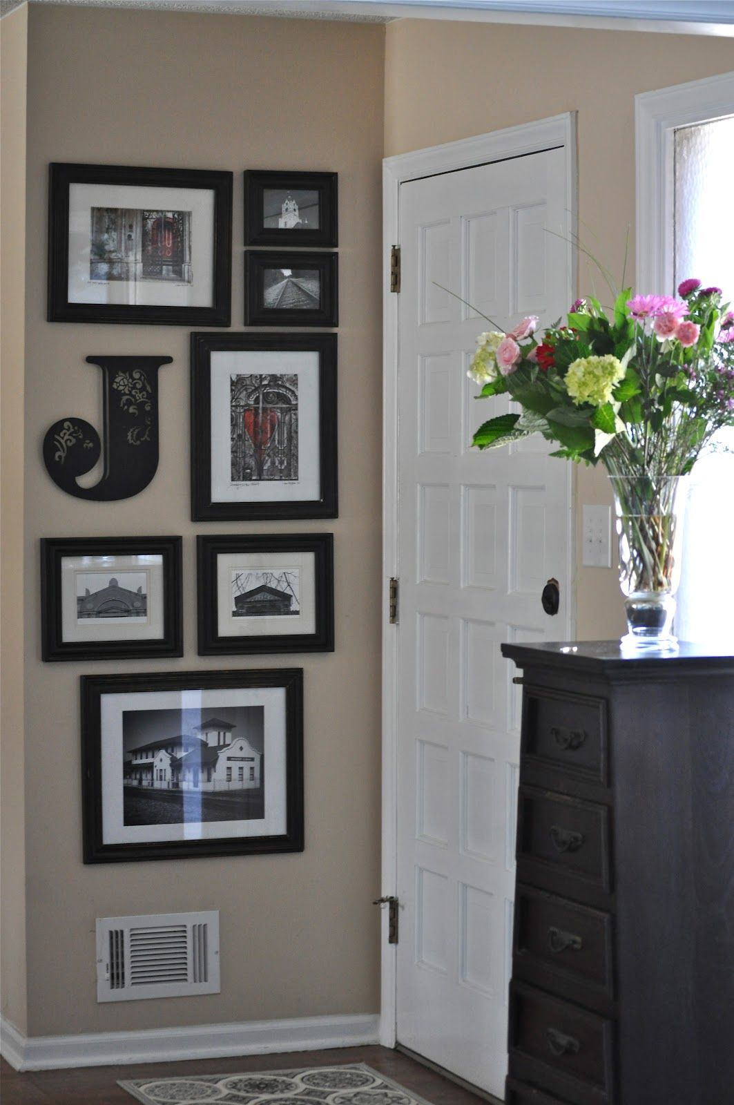 Our southern table creating an entry way 2018 home inspiration wall decor our southern table creating an entry way amipublicfo Images