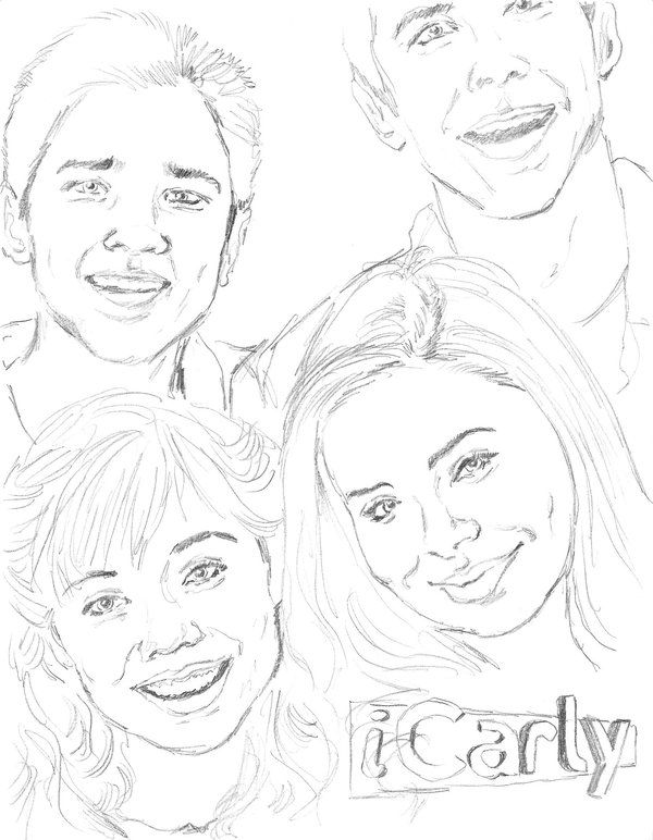 icarly coloring pages | Info Tech | Pinterest