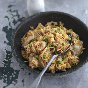 Quick And Easy Chicken Fried Rice Resep Ayam Resep Nasi Goreng Resep Ayam Mudah