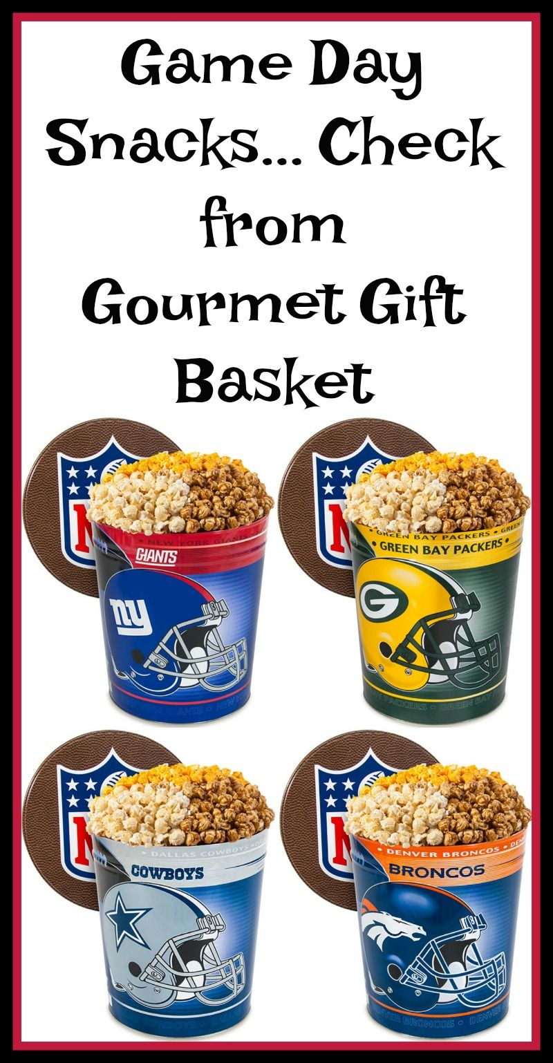 Preparing For The Big Game With Gourmet Gift Baskets (With