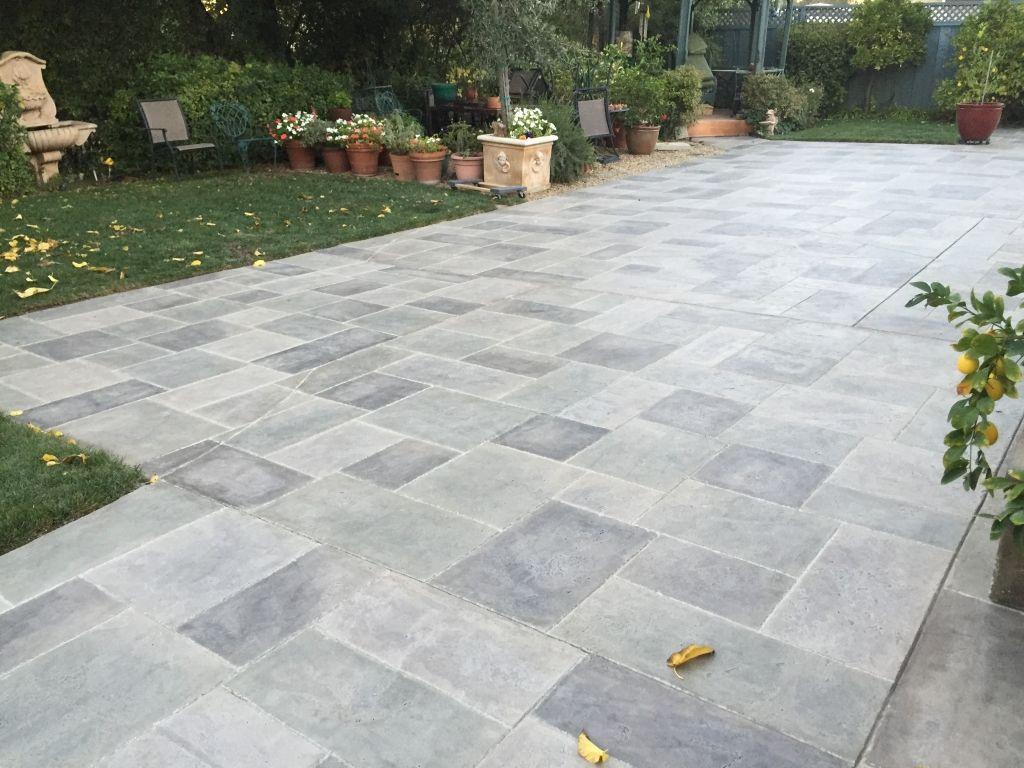 concrete resurfacing concrete patio