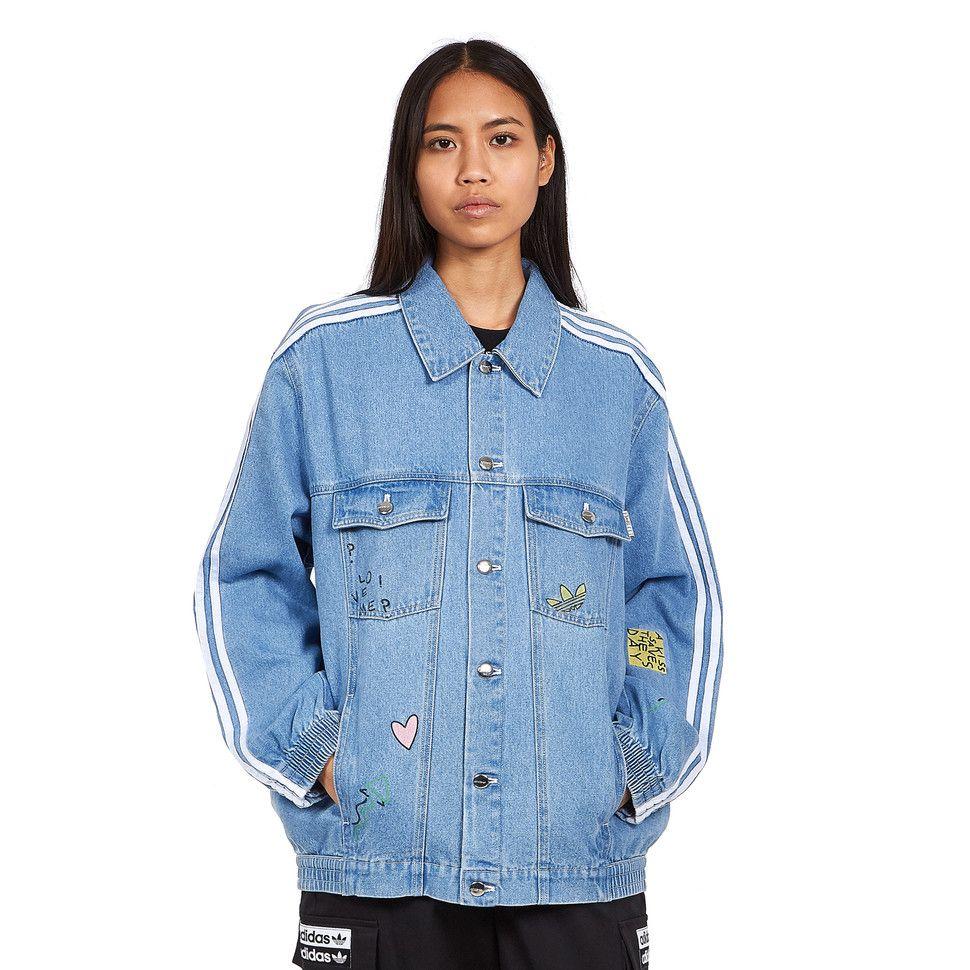 Adidas Denim Jacket Denim Jacket Retro Sportswear Jackets [ 970 x 970 Pixel ]