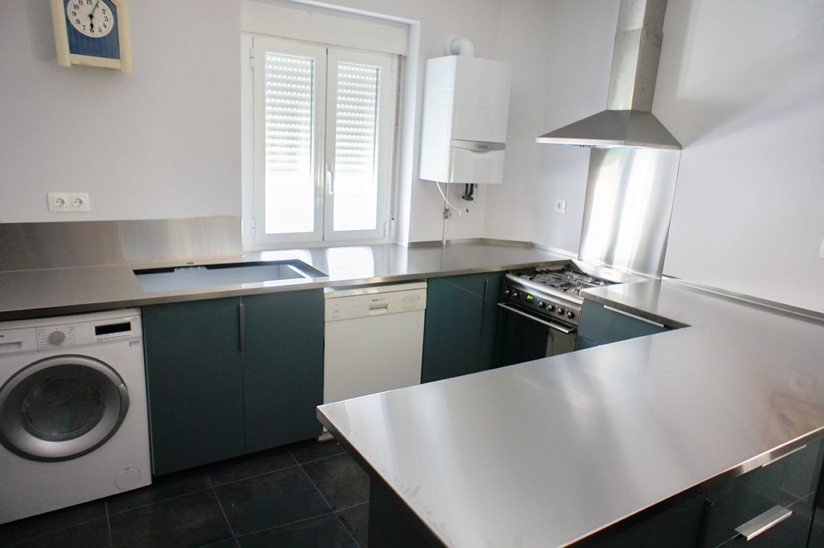 Encimera para cocina en acero inoxidable #aceroinoxidable ...