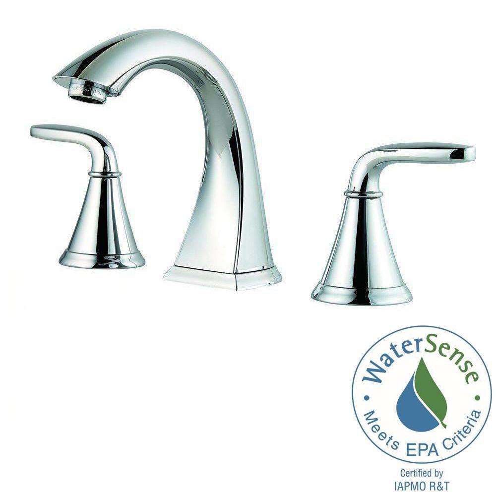 Pfister Pasadena 8 In Widespread 2 Handle Bathroom Faucet In