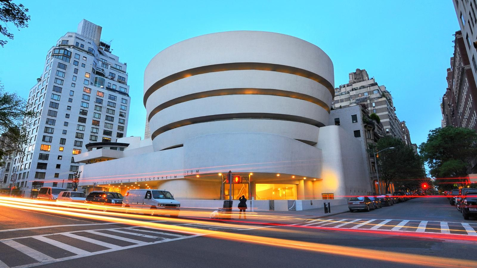 21 Oct 1959: Guggenheim Museum opens - a masterpiece wrapped around an art collection