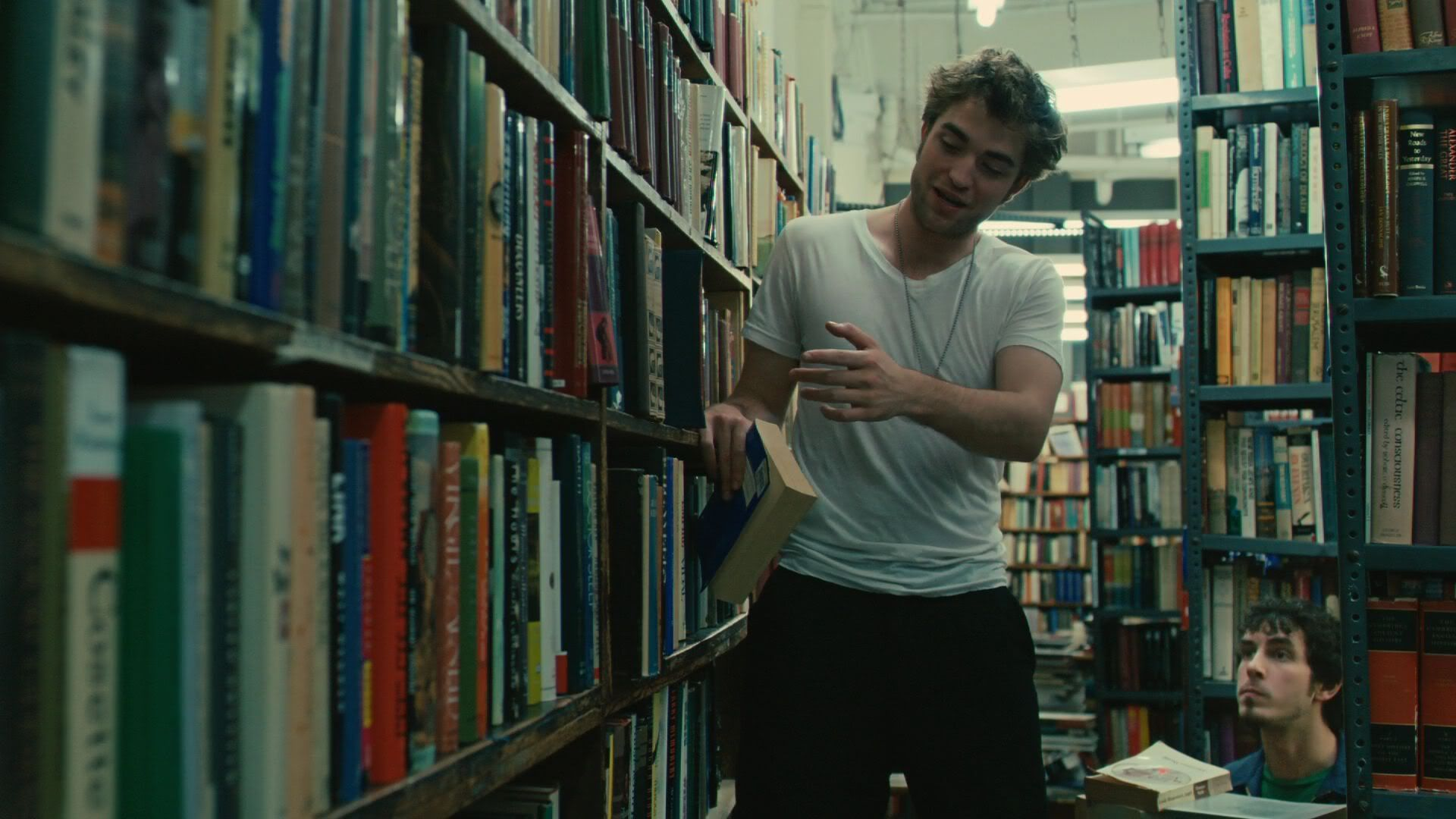 Remember Me (2010). Robert Pattinson plays a library worker working at his  university library. | Robert pattinson, Remember me quotes, I robert