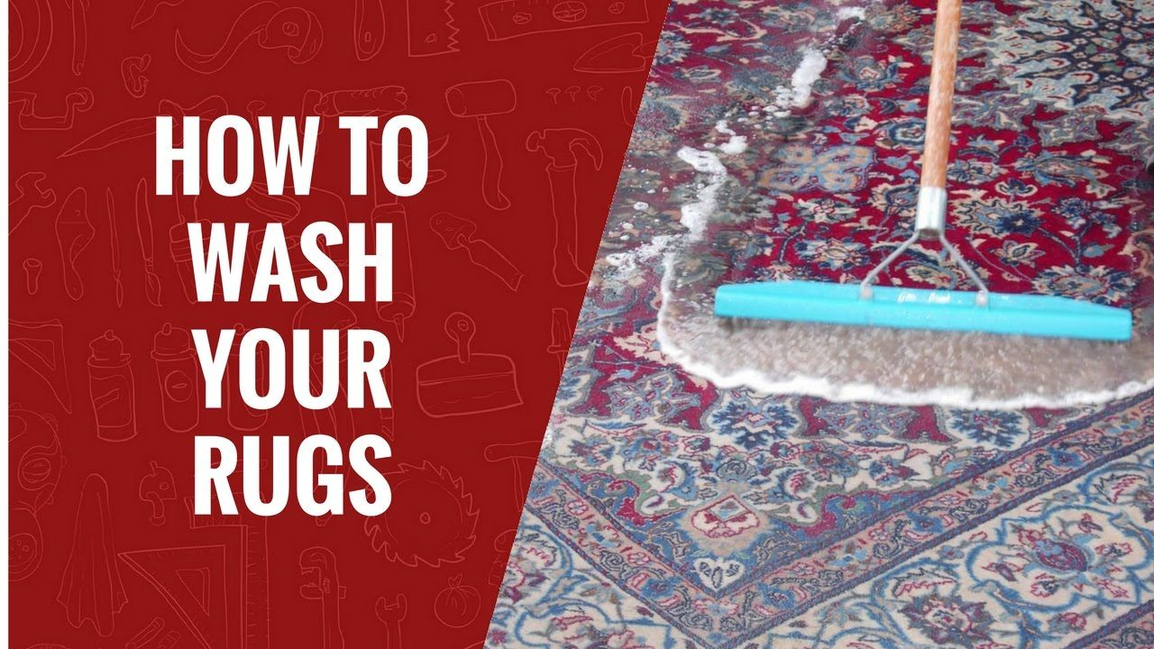 How To Wash Your Rugs Carpet Care Rugs Carpets How To Clean Carpet Rugs On Carpet How To Wash Rugs