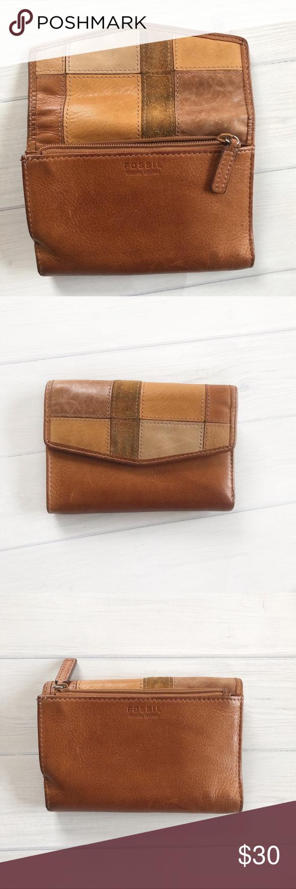 Fossil Leather Women S Wallet Leather Women Leather Wallet