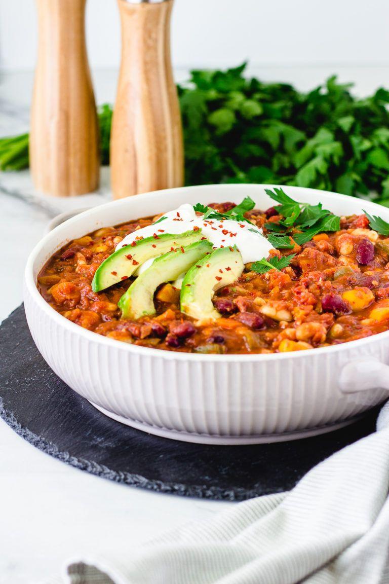 Photo of The best vegan sweet potato chili | Veggie Jam