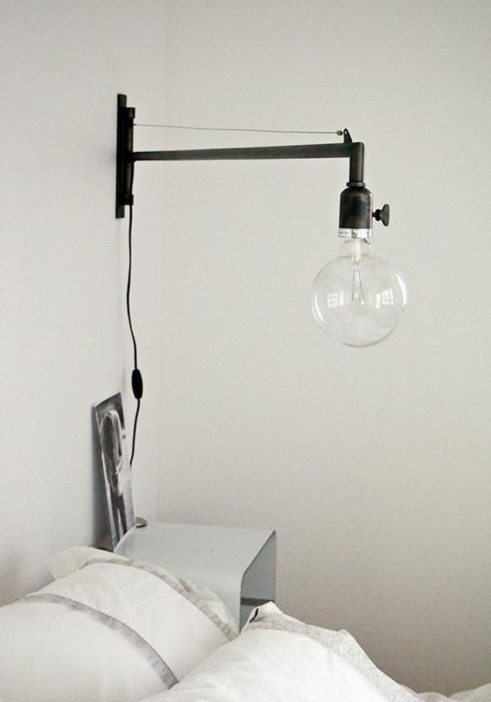 Bedroom Wall Lamps Swing Arm Home Ideas Interesting