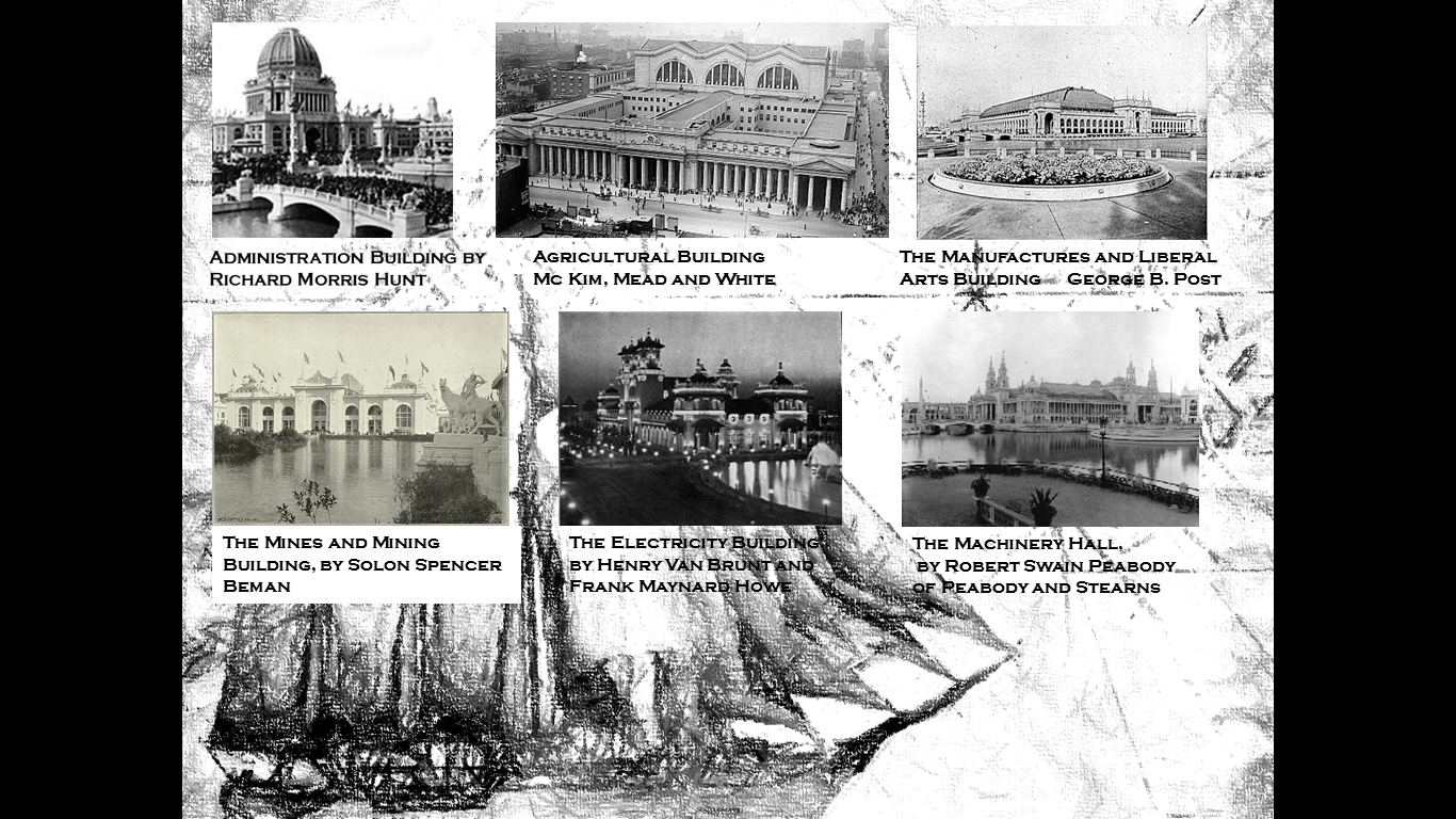 The Great Buildings of The Exposition (I)   The