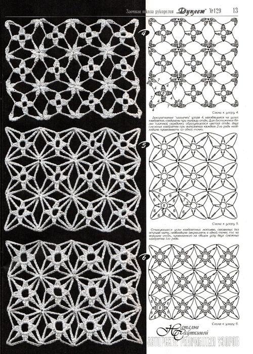 crochet flower pattern... #crochet_inspiration GB | bolillos ...