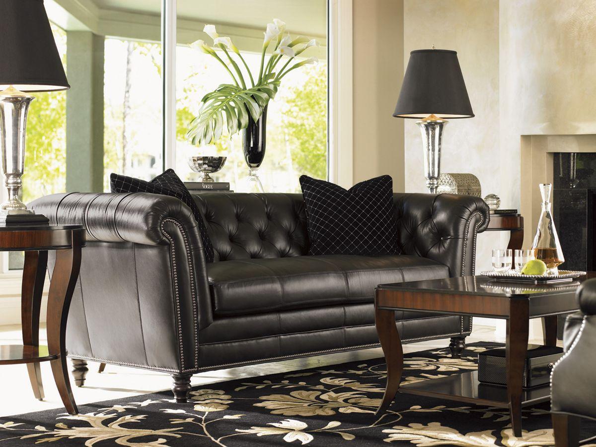 High Quality Lexington Leather Westchester Leather Sofa | Lexington Home Brands