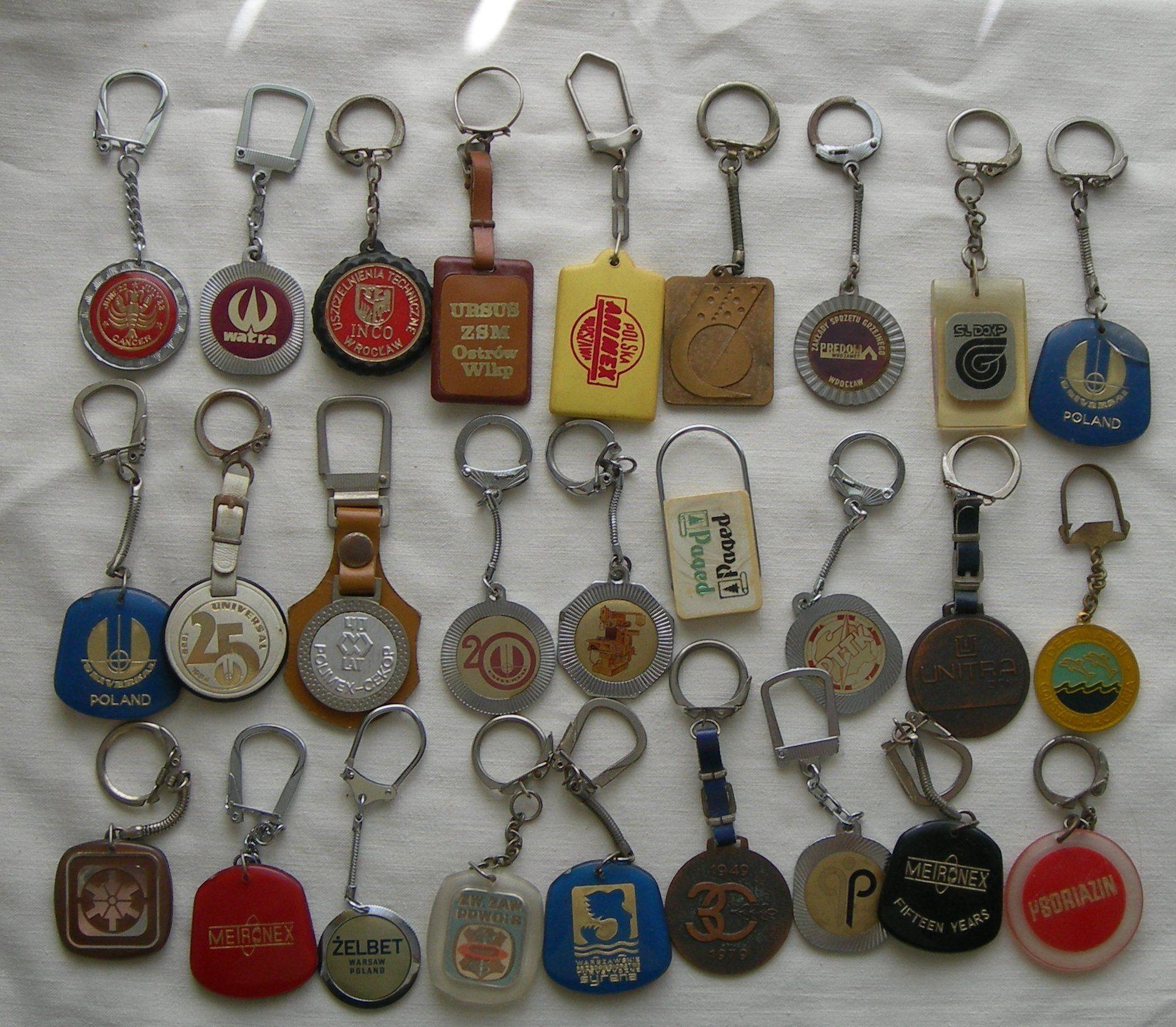57 Breloczki Firmy Prl 6910465160 Oficjalne Archiwum Allegro Keychain Personalized Items